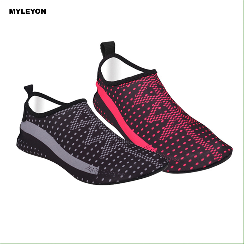 BMS04 Water Skin Unisex Shoes SWIMMING SHOES WATER SHOES BAREFOOT AEROBIC VACANCE MULTI SOCKS
