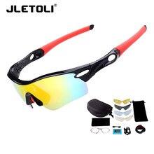 c804ca4a71 JLETOLI profesional polarizado gafas ciclismo deportes gafas de bicicleta  de montaña gafas de sol hombres mujeres bicicleta gafa.