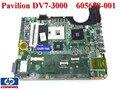 Nueva notebook placa base original del ordenador portátil placa madre 575477-001 605698-001 para hp pavilion dv7 dv7t dv7-3000 90 días de garantía