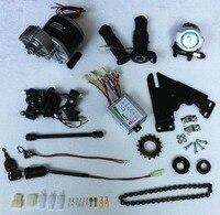 DC 36V 350W brush motor, DIY 22 28 electric bicycle kit , electric bicycle motor, E bicycle kit, MY1016Z brush motor