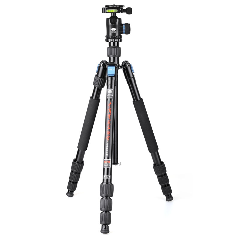 Sirui SLR Camera Tripod Stand+Ball Head Kit W1004+K10X Aluminum Pro Professional Water Proof Unipod Monopod For DSLR 360Degree sirui a 1205 a1205 tripod professional carbon fiber flexible monopod for camera with y11 ball head 5 section free shipping