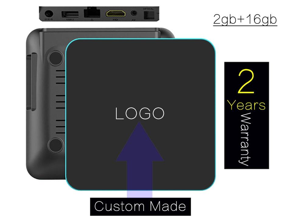 ФОТО 10PCS Custom Made Qplus-2gb/16gb 2 years warranty Android6.0 TV boxes IPTV 4K KODI16.1/Kodi17.0 A53 S912 octa core Bluetooth