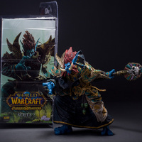 WORLD WOW SERIES 2 ZABRA HEXX TROLL PRIEST ACTION FIGURES STATUE TOY Anime Figure Collectible Model Toy