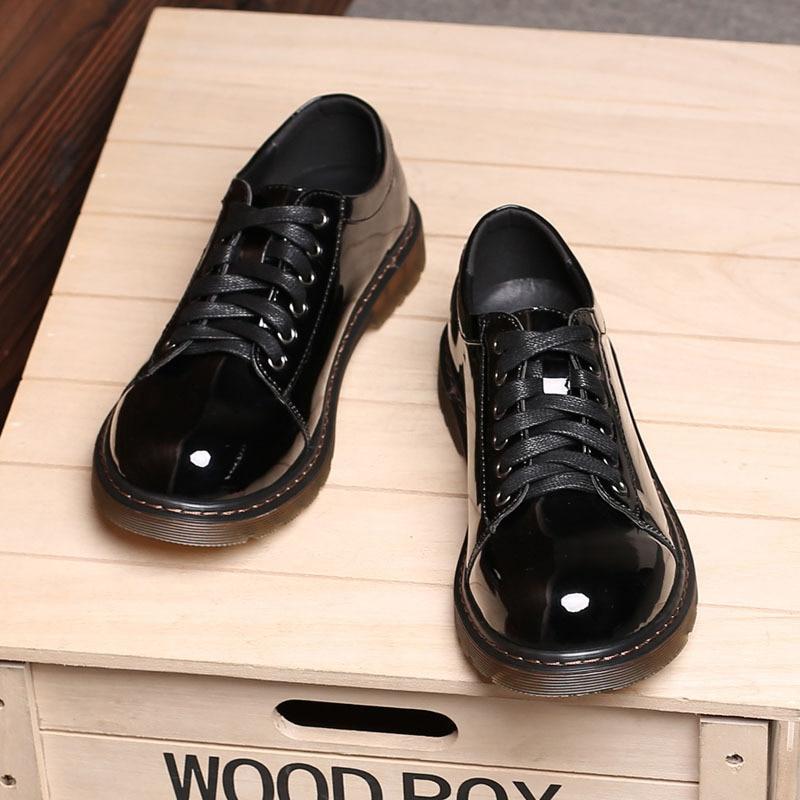 Designer Couro Homens Marca soft Mx8118622 Leather Grande Moda Sapatos 26 Skin Tamanho 66 Homem Patent De Sociais Luxo zxXSq8v