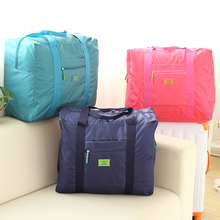 PVC waterproof nylon foldable bags Travel Bags College Wind tourism travel package sorting bags of Korean men and ladies clothes dictionary of travel tourism and hospitality