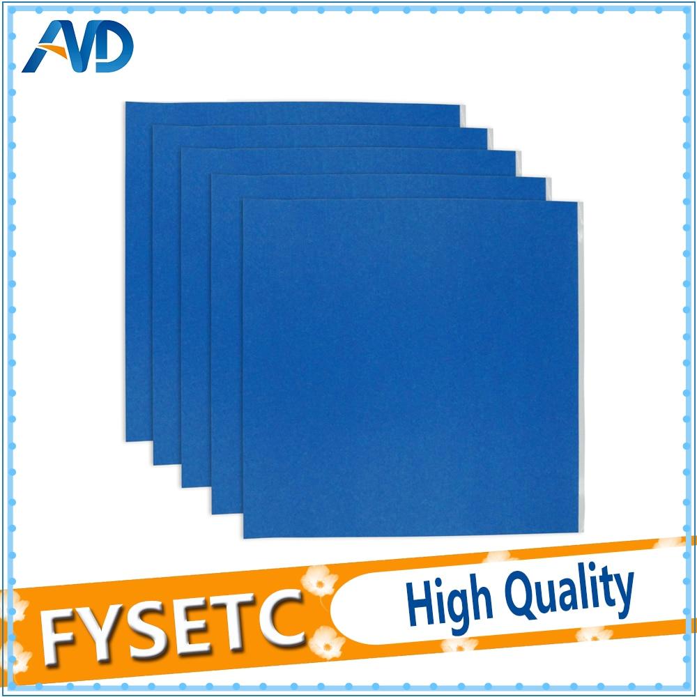 5pcs 210x200mm Sticker Tape Build Plate For 3D Printer Hot Bed Printing Platform