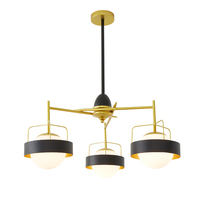 Postmodern Minimalist Atmosphere Living Room Lights Nordic Creative Personality Restaurants Bedroom Villas Designer Chandelie