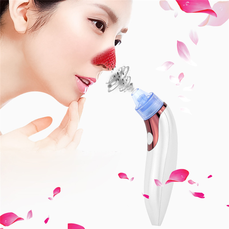 Skin Care Pore Cleaner Vacuum Blackhead Remover Acne Pimple Removal Vacuum Suction Tool Nose Grease Derease Face Clean Machine 2pcs rosacea ointment red nose ointment acne cream skin care chinese herbal anti acne and mite acne rosacea red nose