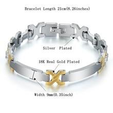 Mens Bracelet 316L Stainless Steel Silver Color Chain Link Bracelets for Men Wholesale Jewelry 9mm equte bssm5c3 316l stainless steel golden link bracelet 9