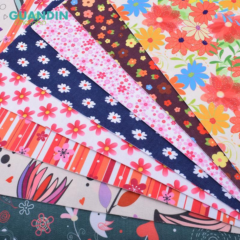 Нетканые мягкого войлока/1 мм Толщина/печатные ткань полиэстер украшения дома Комплект для шитья кукол и ремесла 40 см * 45 см