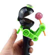 Yooap New exotic sugar candied lollipop storage robot creative whole toy April Fools Day gift  funny