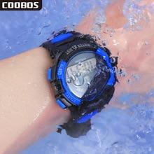 лучшая цена New Women's Digital Watches Outdoor Sports Multifunction Wrist Watch Colorful Light Waterproof Electronic Watch relogio feminino