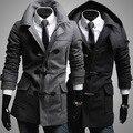 Novo 2016 Homens Jaqueta Casaco Quente Casaco Casuais Outwear Necessário de Alta Qualidade Muito confortável