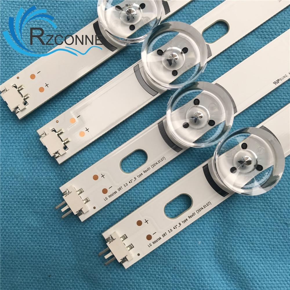 LED strip For LG 42LY320C LC420DUE MG FG A3 M4 INNOTEK DRT 3.0 42 42LB5610 42GB6310 6916L-1709 1956E 1957E 42LB563V 42LY540H насадка для фигурных кондитерских изделий bosch muz8sv1
