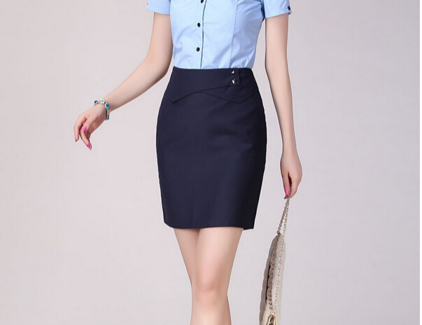 Aliexpress.com : Buy Classic Womens Skirts 4 Colors Black Grey ...