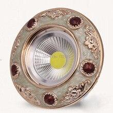 20pcs/lot AC85-265V 3w cob led downlight Resin foyer light for dinner room,living room HQ-SZ10
