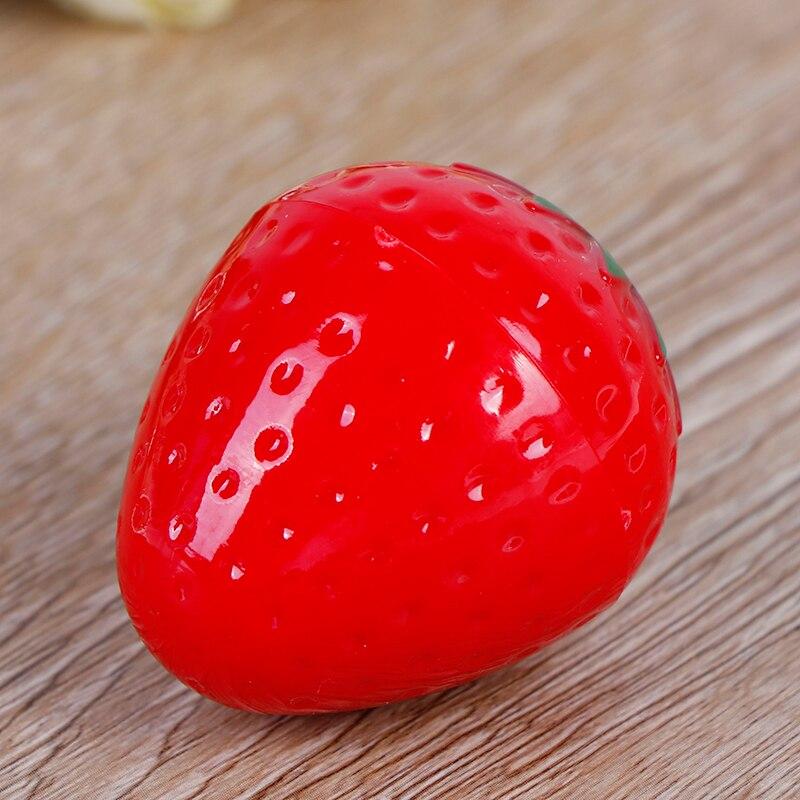 1 шт., сладкий бальзам для губ, косметика для губ, клубника, макияж, бальзам для губ, увлажняющий губный блеск, цветная губная помада, блеск для губ, пятна для губ