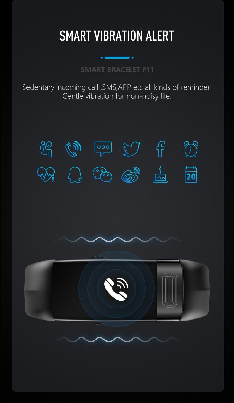 HTB1ceGjOhnaK1RjSZFtq6zC2VXal MKS Smartband Blood Pressure Smart Band Heart Rate Monitor PPG ECG Smart Bracelet Activity Fitness Tracker Electronics Wristband