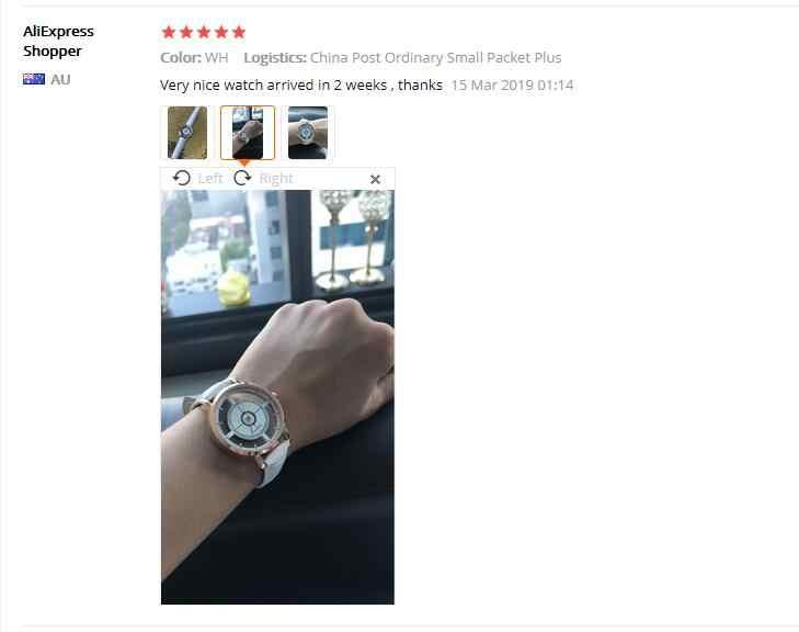 ايميكور 2018 جديد كوارتز ساعة معصم شخصية محايدة بسيطة التناظرية المعصم حساسة الجوف ساعة الأعمال الفاخرة بالجملة 75