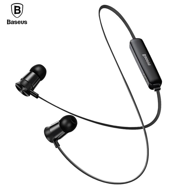 Baseus S07 auricular Bluetooth para teléfono inalámbrico deportes Auriculares con micrófono Auriculares Bluetooth Auriculares auricular
