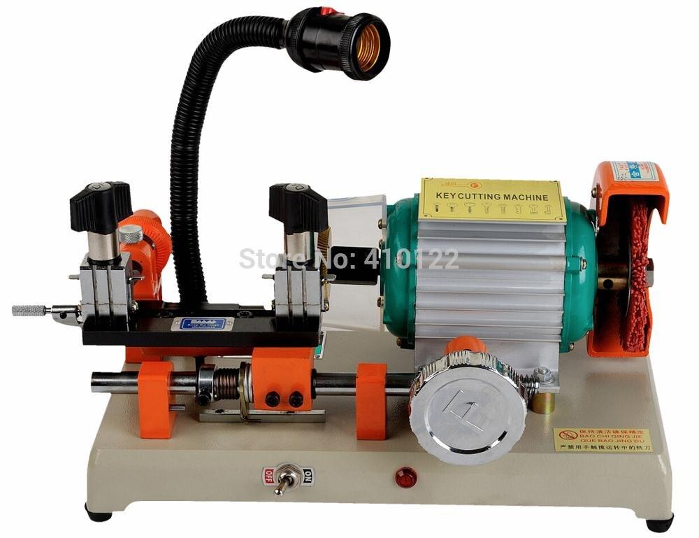 110 volt ou 220 v voiture clé Machine de découpe à vendre serrurier serrure Pick Set ouvert voiture porte serrure ouverture ouvre outils pièces
