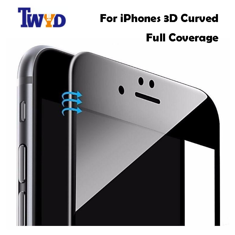 9H 0.26mm Glossy 3D Curved Carbon Fiber Soft Edge Tempered Glass For - Mobile Phone Accessories and Parts - Photo 6