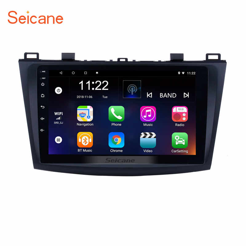 Clearance Seicane Android 7.1 9 Inch GPS Car Radio For 2009 2010 2011 2012 MAZDA 3 Multimedia Player Head Unit With Mirror Link