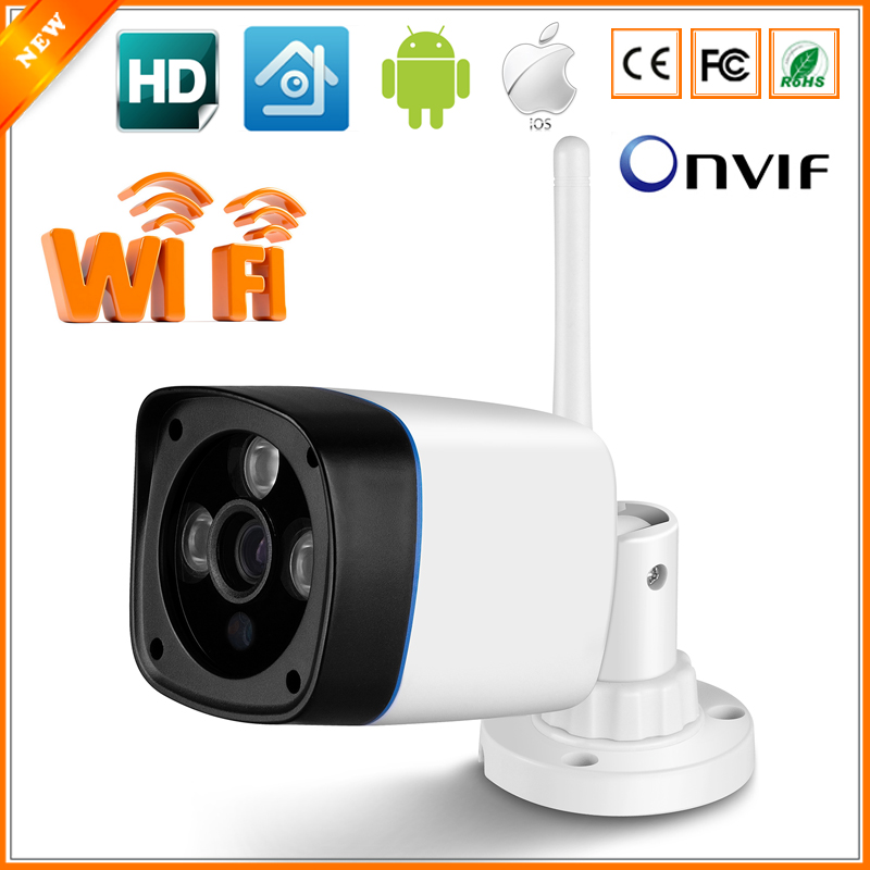 imágenes para Cámara de vigilancia 802.11b/g Wifi de La Cámara IP 720 P 960 P 1080 P Cámara IP Inalámbrica Cámara Impermeable Al Aire Libre 3 LED Array ONVIF