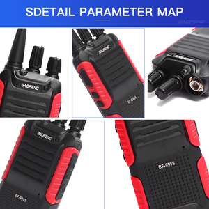 Image 3 - 2pcs/lot BAOFENG 999S plus Walkie talkie UHF Two way radio baofeng 888s UHF 400 470MHz 16CH Portable Transceiver with Earpiece