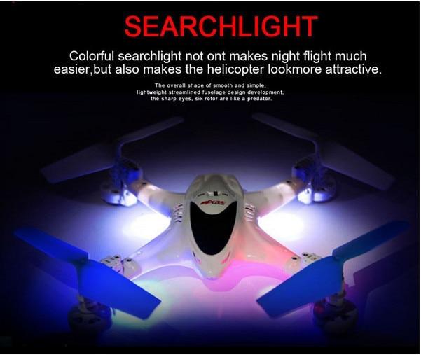 Livraison gratuite X300C 2.4G 6 axes gyroscope hélicoptère FPV quadrirotor wifi Drone avec 0,3mp caméra mode sans tête VS X8C H9D X400