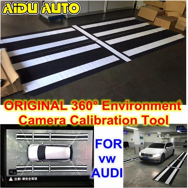 AIDUAUTO For Audi VW Skoda Seat Original 360 Environment Rear Viewer Camera Calibration Tool VAS721001