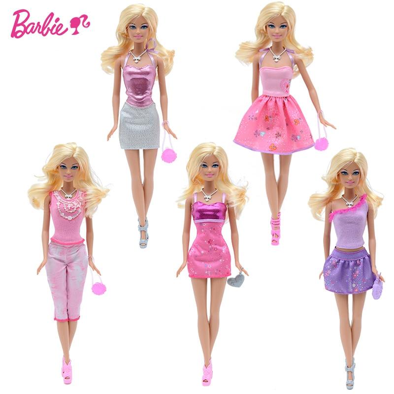 13ad4f1b1b58c D origine poupée barbie Jouets Princesse Designer De Mode Combo Girll  Creative Desi Vêtements Robe pour Bébé Poupées pour les Filles Enfants dans  Poupées de ...
