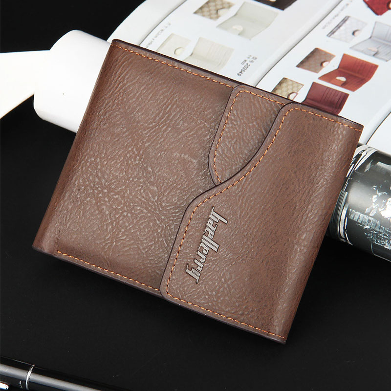 High Quality Soft Leather Wallet Short Design Men Wallets Portable Removable Card Holder Money Purse Male Clutch Bag Free Ship high quality first layer soft genuine leather men s credit card holder clutch wallet phone purse vintage design long wallets