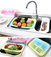 Fruit Vegetable Strainers Leakage Basket Storage Hold Rack Colander food container Kitchen Dining bar Cooking tools Accessories