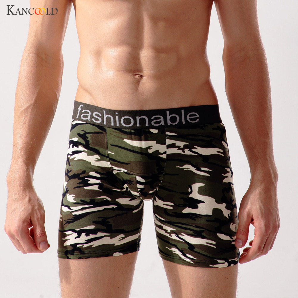 Men's Underwear Camouflage Leisure Shorts Cotton Comfortable Men Boxer Shorts Fashion Boxers Men Lounge Home Wear Underwear no16