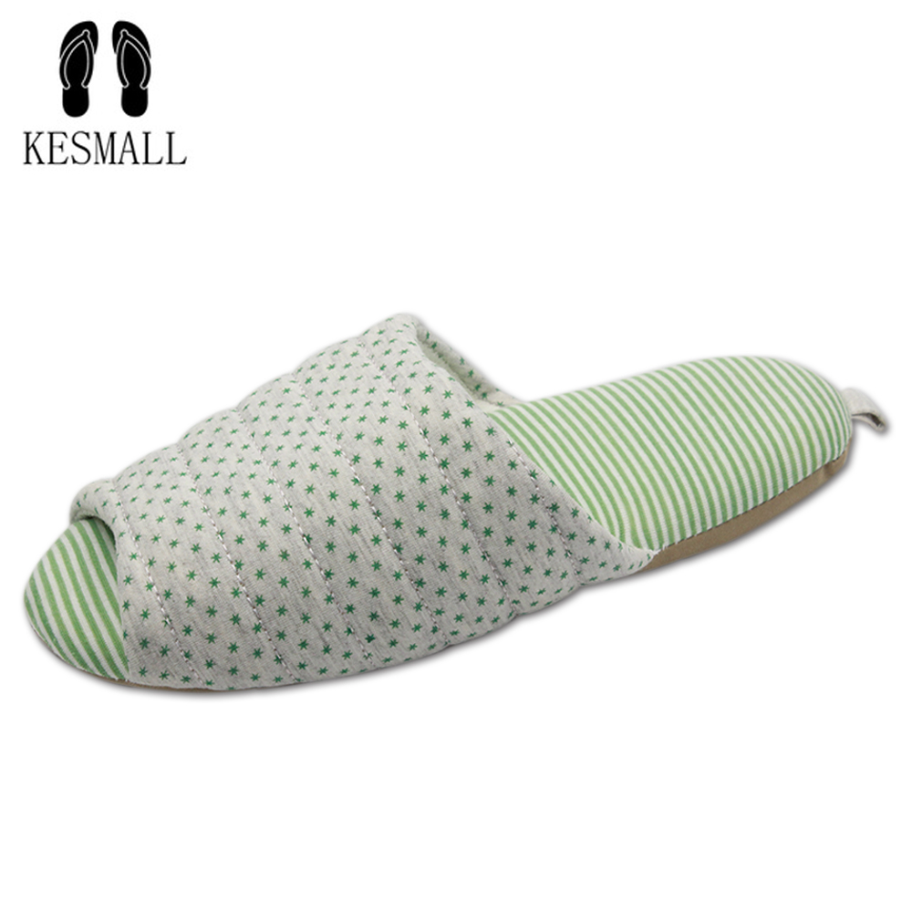 KESMALL Soft Plush Cotton Cute Slippers Shoes Non-Slip Floor Indoor House Home Furry Slippers Women Shoes For Bedroom WS336 original new arrival 2017 adidas performance women s tight pants sportswear