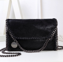 Women Messenger Bags New Arrval Casual Chains Handbags High Quality PU Leather Shoder Crossbody Bag Hand-woven bolsa feminina