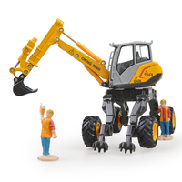 Alloy crawler excavator spider excavator simulation child toy engineering vehicle model children's toys birthday gift