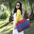 DurableDiaper Bag Para A Mamã Novo Design de alta Qualidade Saco de Fraldas Multifuncional Para Carrinho de Bebê Mudando Saco Sacola de Maternidad