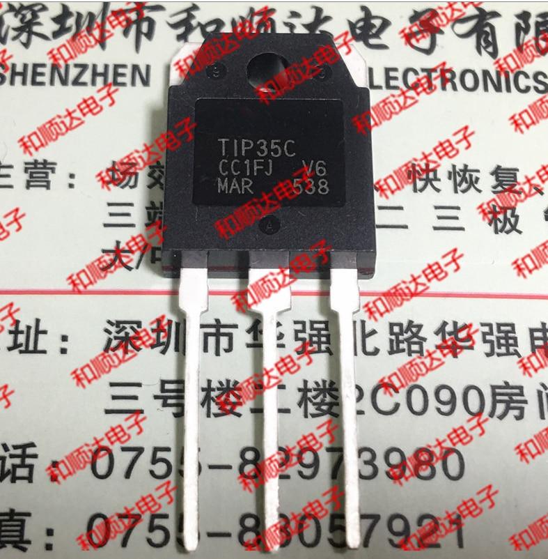 10PCS TIP35C TO-247 TIP35 TO-3P 35C TO247 New And Original IC