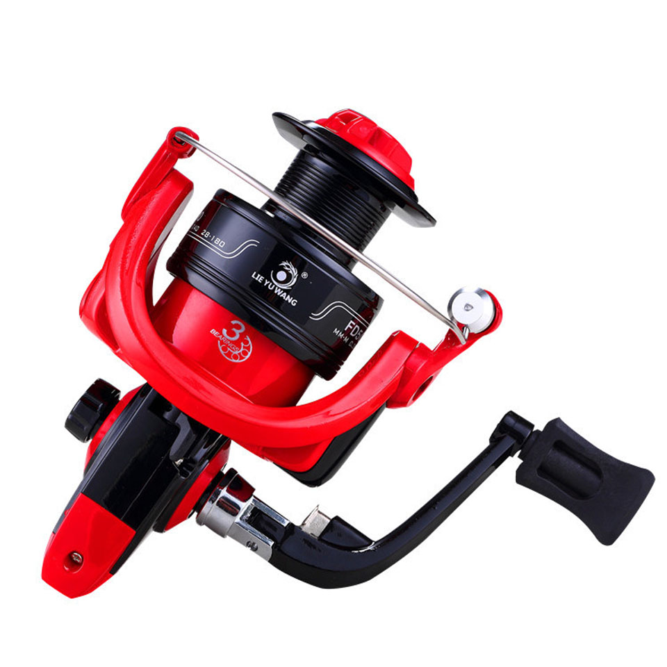 High Speed Fishing Reel Ratio 5.0:1 Bait Folding Rocker Spinning Fishing Reel carpa molinete de pesca