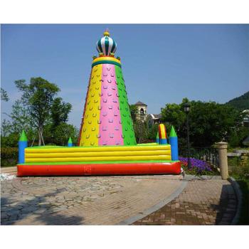 Outdoor sport nadmuchiwana ściana wspinaczkowa dla dzieci w wieku 3-12 lat tanie i dobre opinie XZ-CW-035 Dziecko Outdoor sport inflatable climbing wall for 3-12 years old kids 0 5mmPVC L8m*W8m*H8m 110-220v Large Outdoor Inflatable Recreation