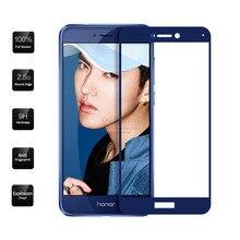 0.26mm Full Screen Tempered Glass Film For Huawei Nova lite Glass Screen Protector For Huawei P8 Lite 2017 / Honor 8 Lite 9H все цены