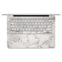 2016 Laptop Grey Marble Sticker Keyboard Side Full Vinyl Decal Protect Skin For Apple Macbook Air
