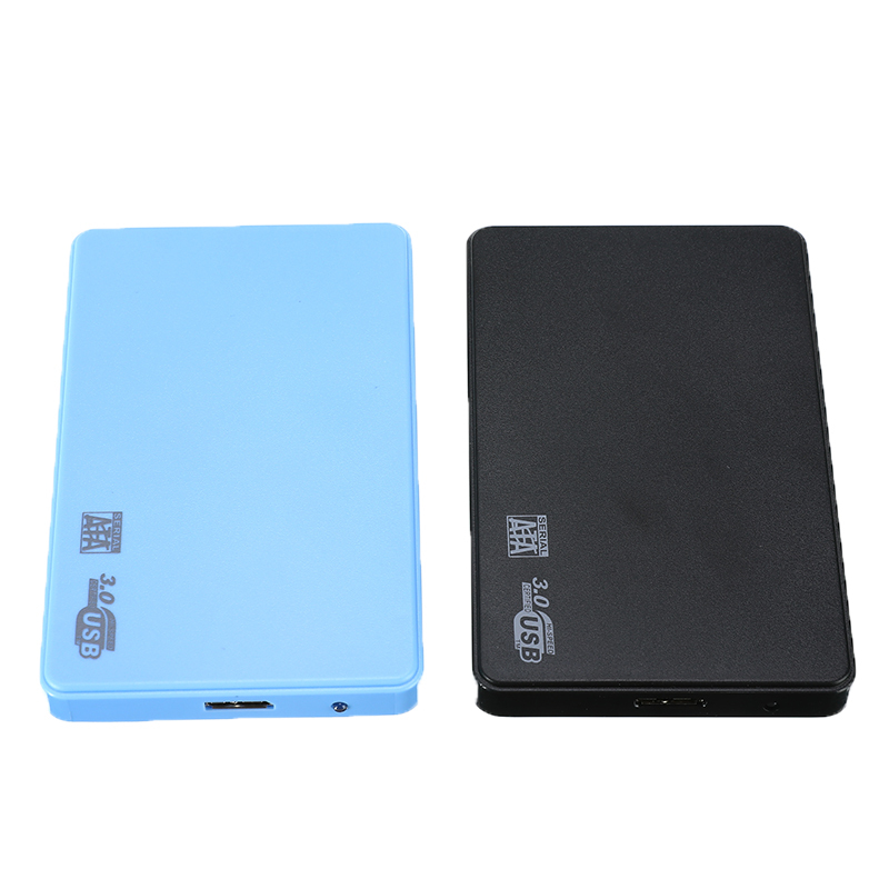 "New 2.5"" USB 3.0 SATA HD Box HDD Hard Disk Drive External HDD Enclosure Mobile HDD Case Support 2TB HDD Disc"