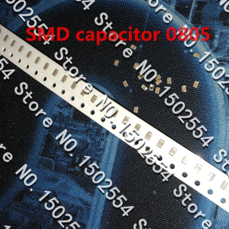 50 шт./лот SMD керамический конденсатор 0805 103J 10NF 50V COG NPO 5% высокая частота 2012 Интегральные схемы      АлиЭкспресс