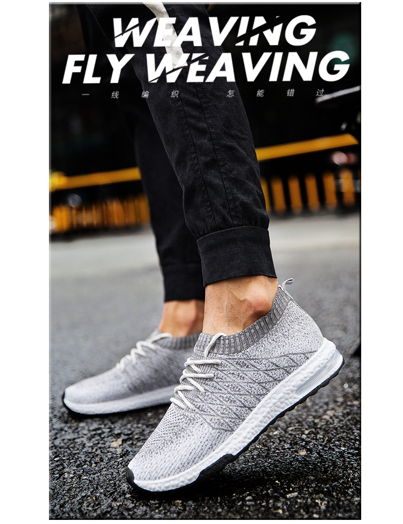 HTB1ceLSPmzqK1RjSZFHq6z3CpXad Men Shoes Beathable Air Mesh Men Casual Shoes Slip on Fall Sock Shoes Men Sneakers Tenis Masculino Adulto Plus Size 46