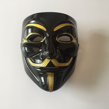 50pcs Guy Fawkes Mask Anonymous Halloween V For Vendetta Fancy Dress Costume Cosplay Venetian Carnival