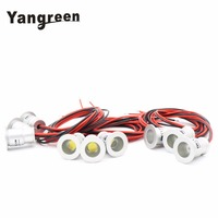 YanGreen Mini led cabinet light 1W mini led downlight 9pcs/lot AC85 265V Mini led lamp white or Warm white RoHS CE