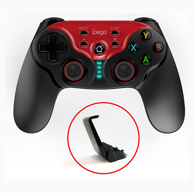 Image 2 - NEW Wireless Bluetooth Android Gamepad Controller Dual Joystick Gamepad MAC IOS Android PC IPEGA PG 9088-in Gamepads from Consumer Electronics